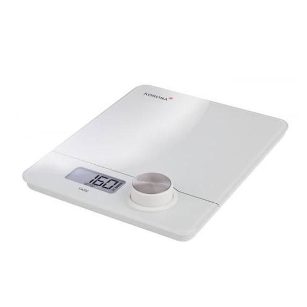 Korona 76160 Pia batterielose Küchenwaage weiß