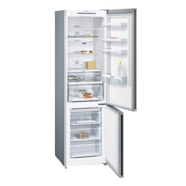 Siemens iQ300 Kühl-Gefrier-Kombination Türen Edelstahl-Look