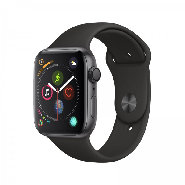 Apple Watch Series 4 GPS 44mm Sportband spacegrau/schwarz