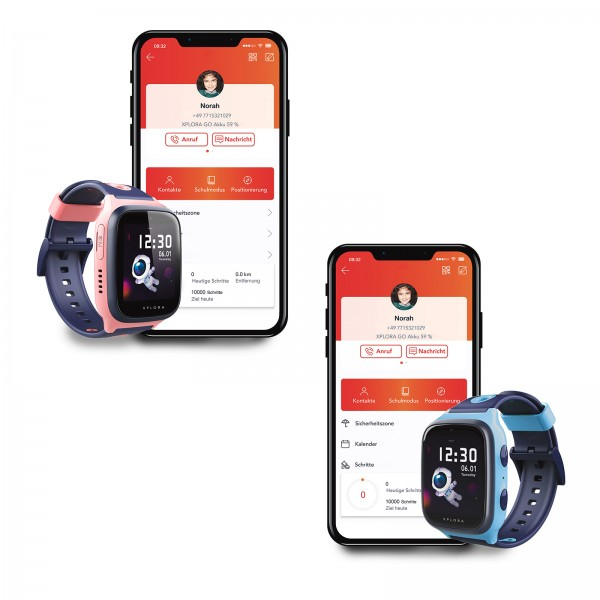 Xplora 4 Smart Watch ozeanblau