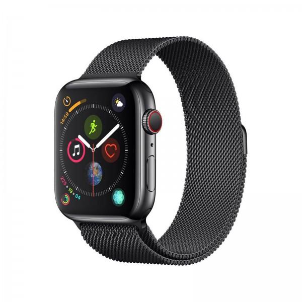Apple Watch Series 4 LTE 44mm Edelstahl Milanaise spacegrau