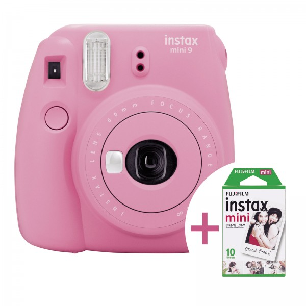 Fujifilm instax Mini 9 Camera + Film Bundle