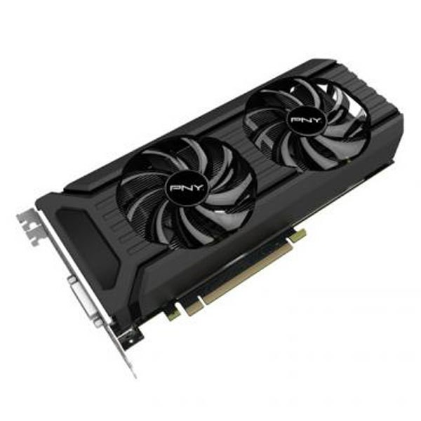 PNY NVIDIA GeForce GTX 1060 3072 MB DDR5 PCI-E 3.0 DVI HDMI 3 x DisplayPort