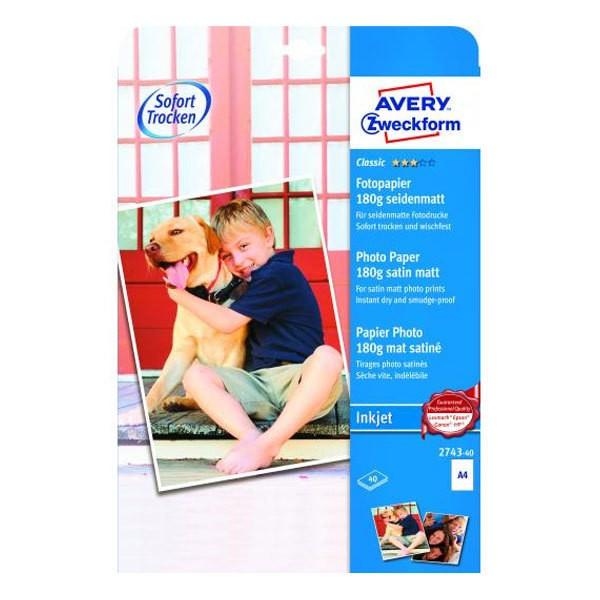 AVERY Classic Inkjet Fotopapier A4 18