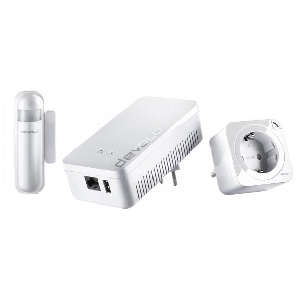 Devolo Home Control Starter Paket 2.0 (Z-Wave Hausautomation, Haussteuerung per iOS/Android App, ein
