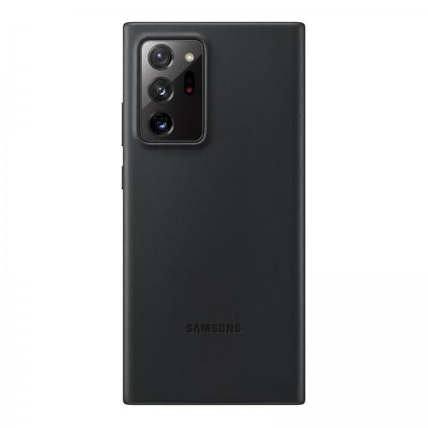 Samsung EF-VN985 Leather Cover für Galaxy Note 20 Ultra grün