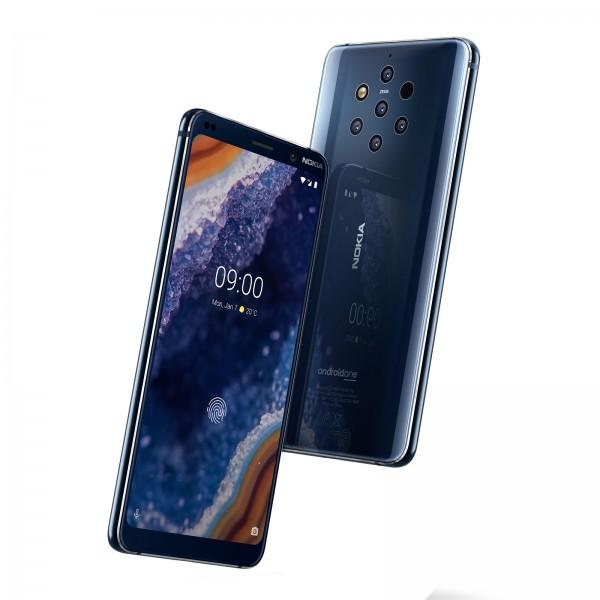 Nokia 9 Dual-SIM blau
