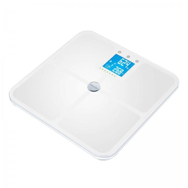 Beurer BF 950 Glas-Diagnosewaage weiß