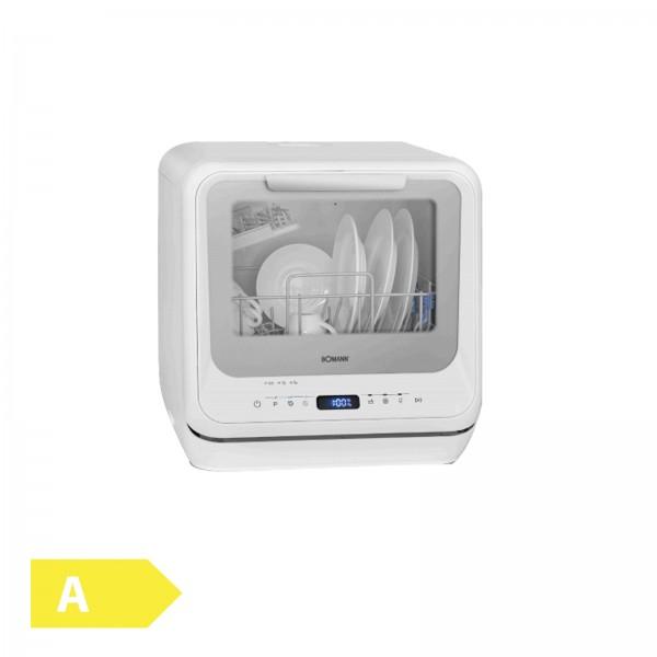 BOMANN TSG 7402 Mini-Geschirrspüler weiß