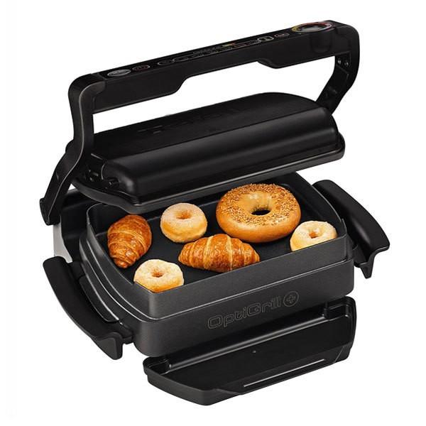 TEFAL GC 7148 Optigrill+ Snacking & Baking Kontaktgrill Schwarz