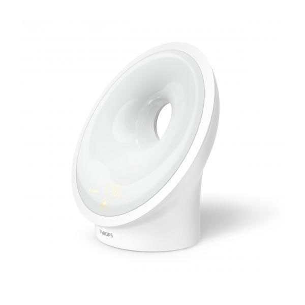 Philips HF 3651/01 Wake-up Light Lichtwecker mit Einschlafhilfe RelaxBreathe