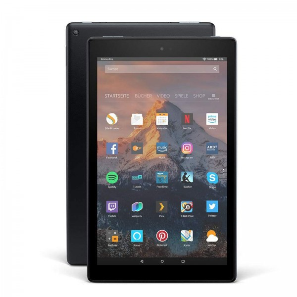 "Amazon Fire HD  10, Hands-  Free with Alexa,  10"" Full-HD Display, 32 GB /2GB /1,8GHz Quad Core / Black - with  Special Offers"