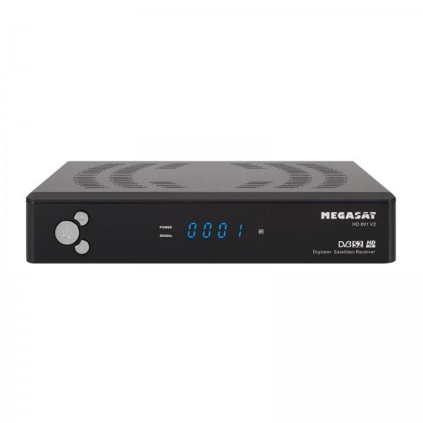 Megasat HD 601 HD Satelliten Receiver Full HD USB-Anschluss Scart