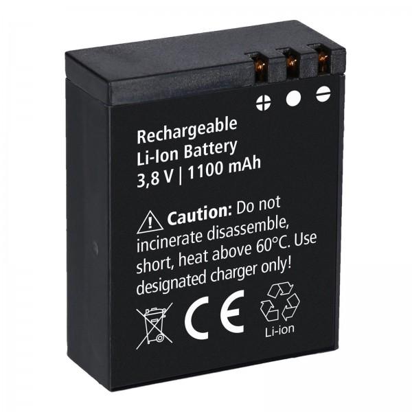 Rollei Lithium-Ionen-Akku Wiederaufladbar für Rollei Actioncam 550/560 Touch