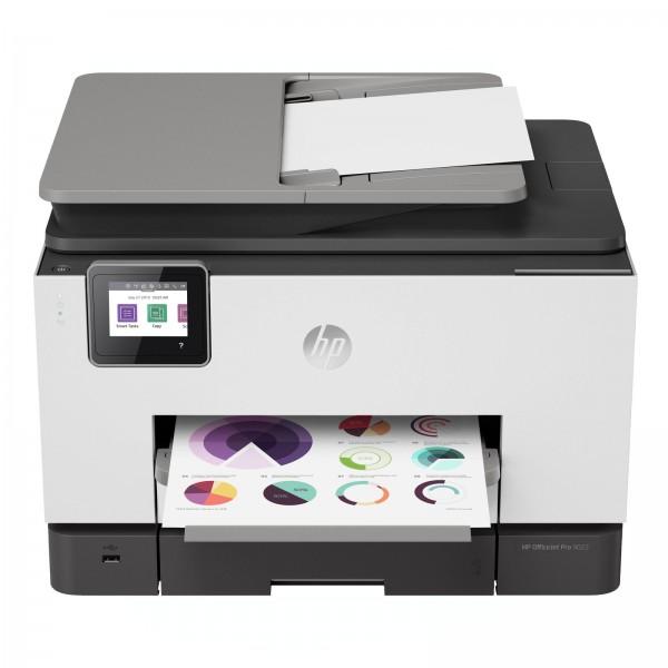 HP OfficeJet Pro 9022, All-In-One, 4-in-1, Wlan, Duplex, Instant Ink, Weiß-Schwarz