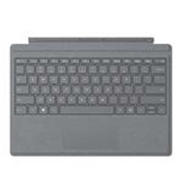 MICROSOFT Type Cover Surface Pro Platin Grau
