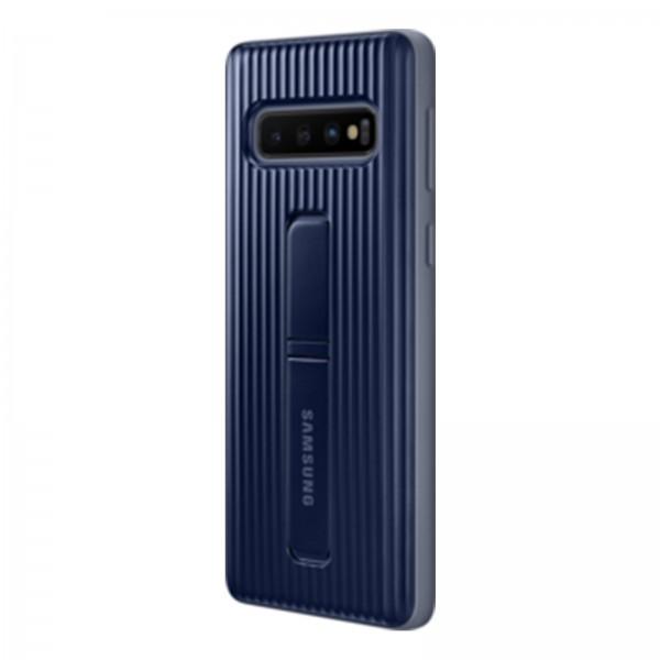 Samsung EF-RG973 Protective Standing Cover für Galaxy S10 schwarz
