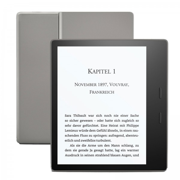 """Amazon all new Kindle Oasis wifi 8GB Graphite 7"""" (300ppi) B07L5GDTYY inkl. Spezialangebote (Werbung)"""
