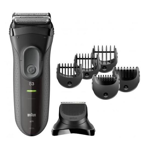 BRAUN Series 3 Shave&Style 3000BT Akkurasierer schwarz