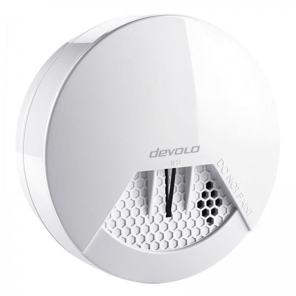 devolo Home Control Funk Rauchmelder (Funk Brandmelder, vernetzt, Z-Wave Hausautomation, Haussteueru