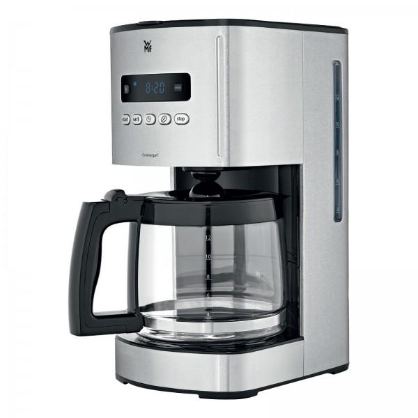 WMF Skyline Digital Kaffeemaschine Glas Cromargan matt 12 Tassen 1000 W