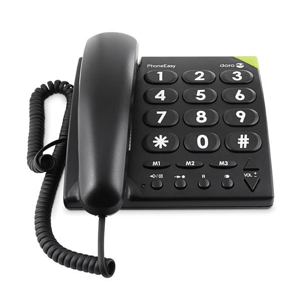 Doro Phone Easy 311 c schwarz