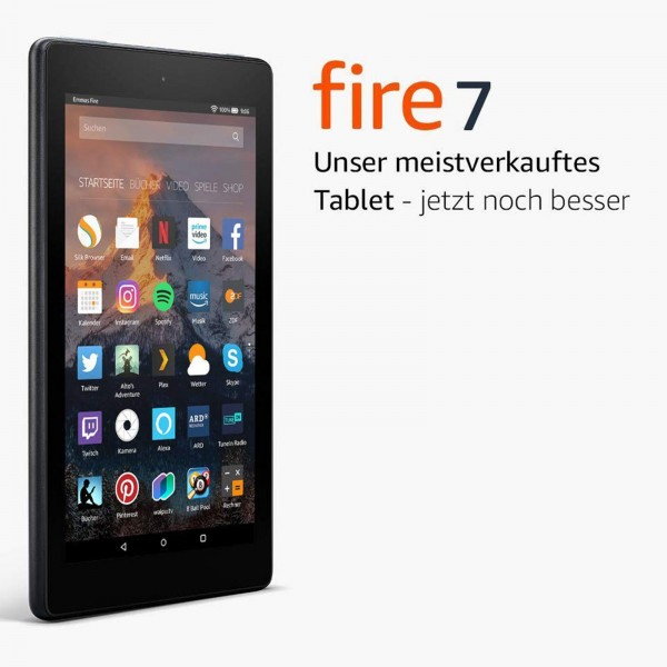 "Amazon Fire 7"" 8GB with Alexa / special offers"