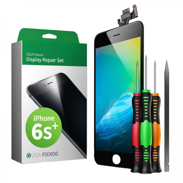 GIGA Fixxoo Display Repair Set für iPhone 6S Plus schwarz