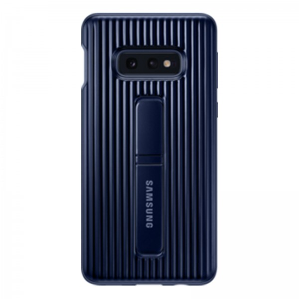 Samsung EF-RG970 Protective Standing Cover für Galaxy S10e blau