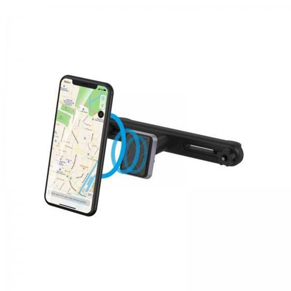 XLayer MagFix Magnethalterung mit Kopfstützenhalterung schwarz