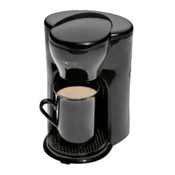 Clatronic KA 3356 1-Tassen-Kaffeeautomat schwarz