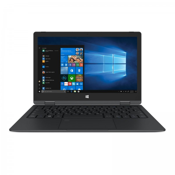 "Trekstor Yourbook C11B-CO Schwarz / 11,6"" FHD IPS/ Intel Celeron N3350/ 64GB / 4GB / W10 S Modus/ Of"
