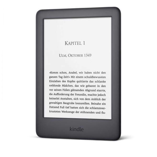 Amazon Kindle WiFi Touch 4 GB (2019) inkl. Beleuchtung, black (B07FQ473ZZ) inkl. Spezialangebote (Werbung)