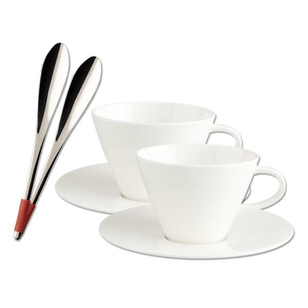 Villeroy Boch Caffe Club Cafe Au Lait 6tlg Deltateccde Ihr
