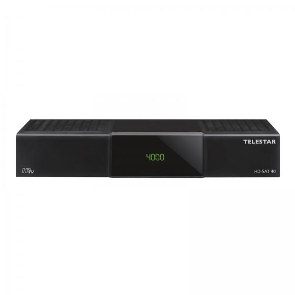 Telestar HD-SAT 40 HDTV Satreceiver mit PVR und USB Mediaplayer und vielen benutzerfreundlichen Feat