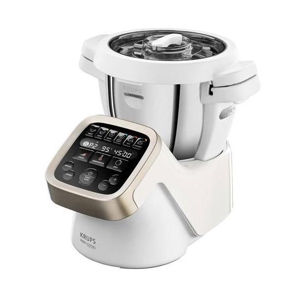 Krups HP 5031 Prep & Cook 4,5 Liter Küchenmaschine weiß / edelstahl 1550 W
