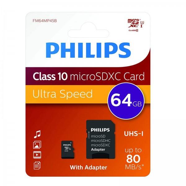 Philips microSDXC CL10 UHS-I 128GB