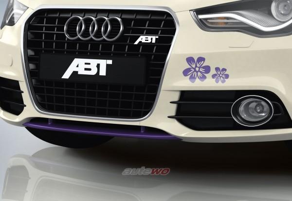 ABT Sportsline Frontlippe Audi A1 8X Lavendel 8X0801212LV