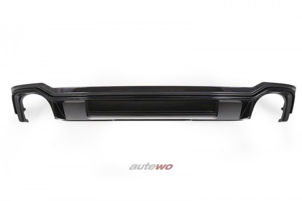 8W9807521B Audi RS4 B9/8W Heck-Diffusor Carbon Stoßstange Hinten