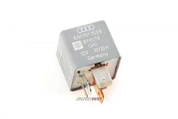 Audi/VW 80/100/A4/A6 Relais 208 Kraftstoffpumpe 4D0951253 8A0951253B