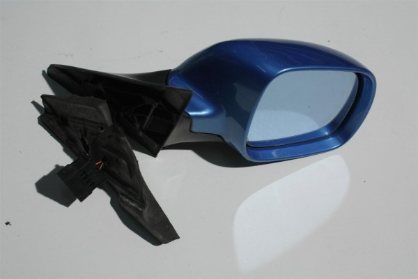 Audi A4 B5 Außenspiegel Rechts BFS pelikanblau LY5T 8D1858532C