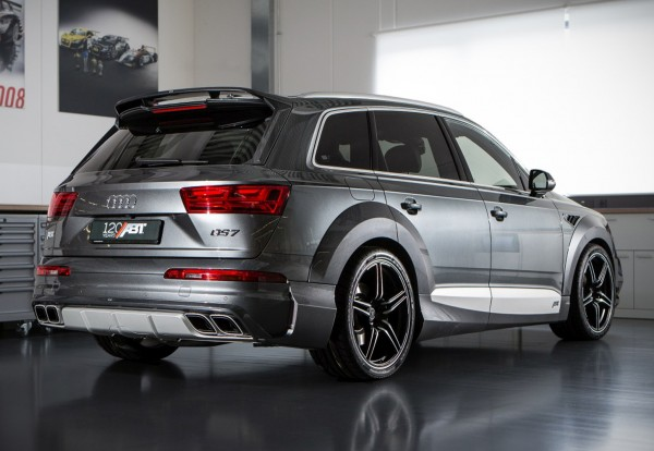 ABT Sportsline Audi Q7 4M Stoßstange hinten + Sport-Abgasanlage