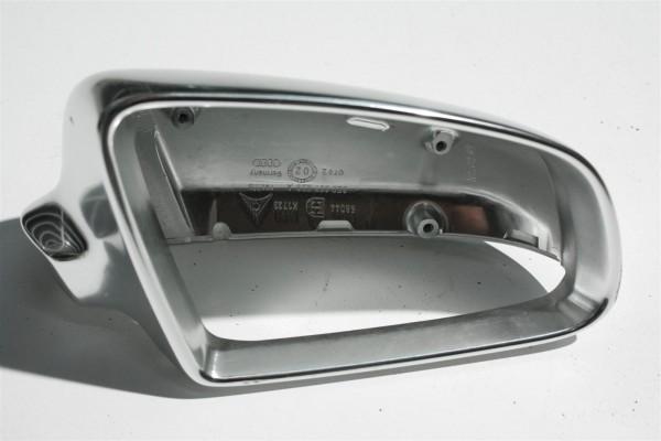 Audi S4/8E original Spiegelkappe Aluminium Rechts BFS chrom 8E0857508A