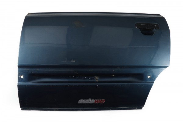 443833051D Audi 100/200 Typ 44 Limousine/Avant Tür Hinten Links LY5Z Nauticblau