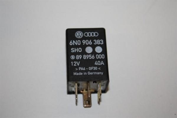 Audi/VW A3/A4/A6/A8 Relais 410 Kraftstoffpumpe 6N0906383