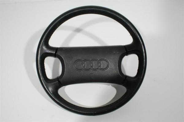Audi 80/90 Typ 89/100/200 Typ 44/V8 4-Speichen-Lenkrad Leder schwarz 893419091G