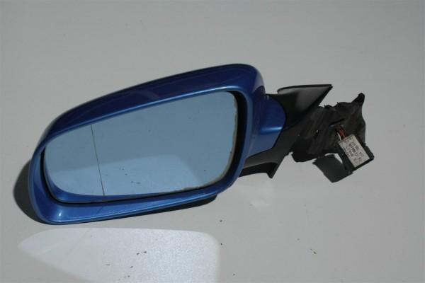 Audi A4 B5 Außenspiegel Links FS pelikanblau LY5T 8D1858531C