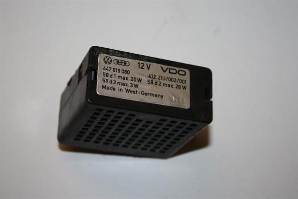 Audi/VW 100/200 Typ 44 Relais Verstärker Instrumentenbeleuchtung 447919080