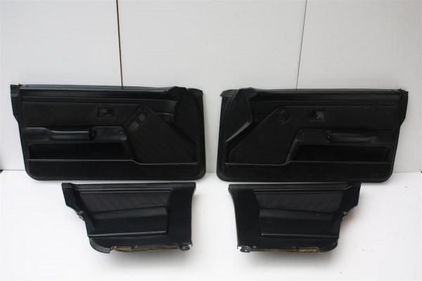 Audi Coupe Typ 89 Türverkleidungen el. Fensterheber Satin anthrazit SX
