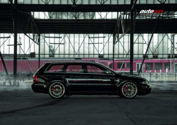Poster DIN A2 Audi RS4 B5 Avant